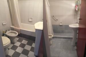 Antes y Después Baño Jovita