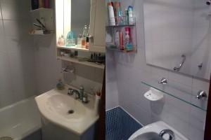 Antes y Después Frente Baño Jovita